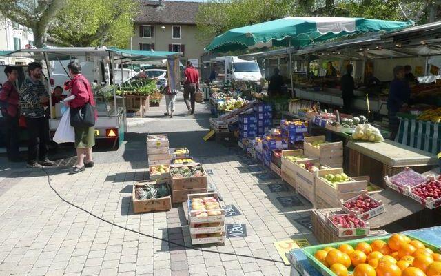 Le marché du vendredi matin