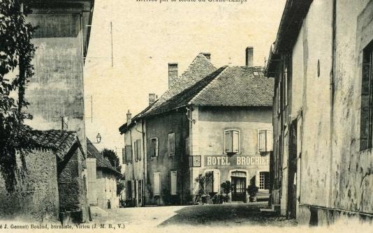 L'Hôtel BROCHIER