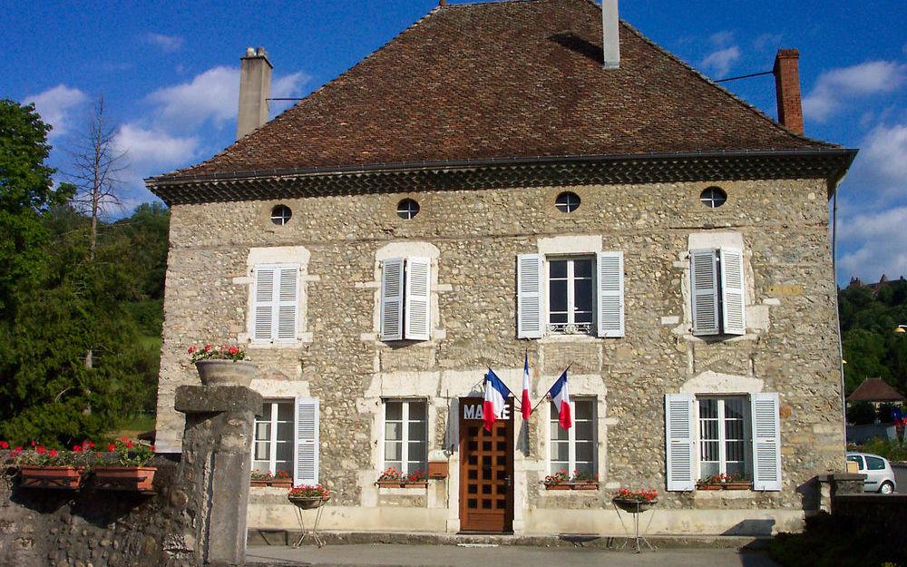 La mairie de Virieu