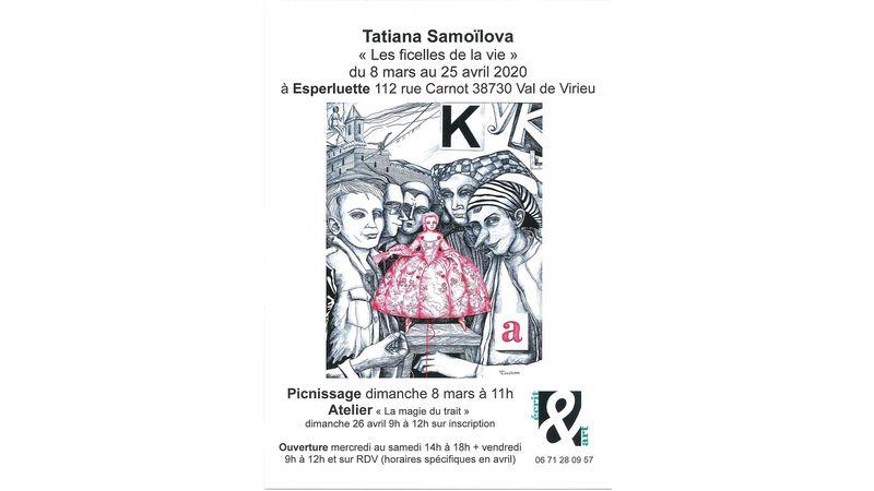 """Tatiana Samoïlova """"Les ficelles de la vie"""""""