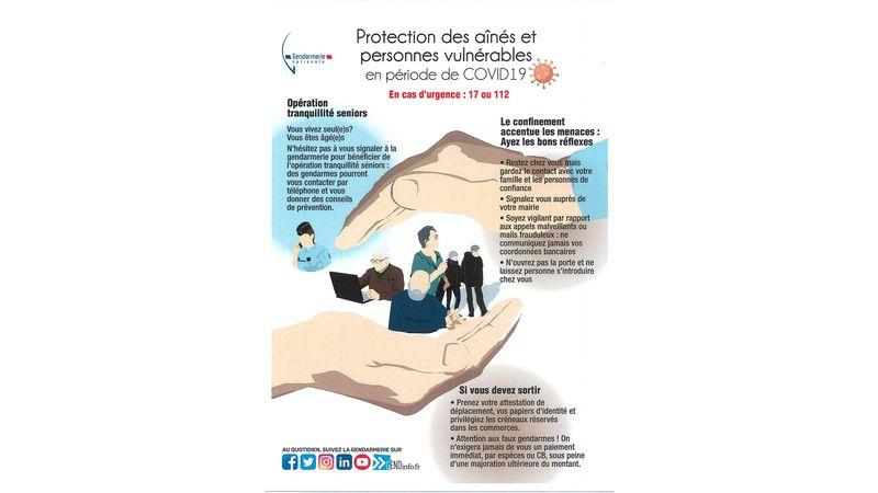 Protection des aînés et personnes vulnérables en période de COVID19