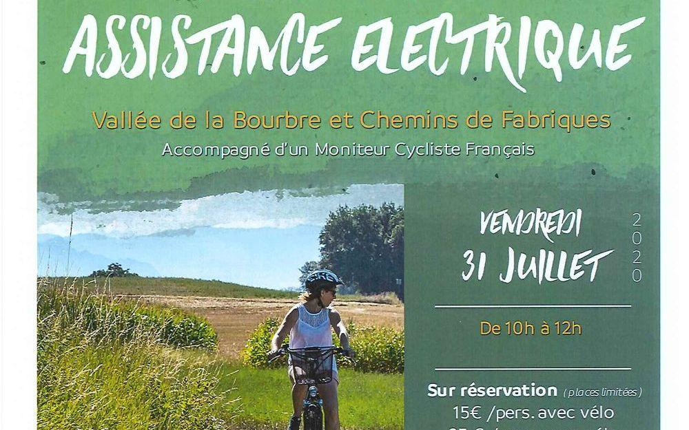 Balade en vélo à assistance électrique