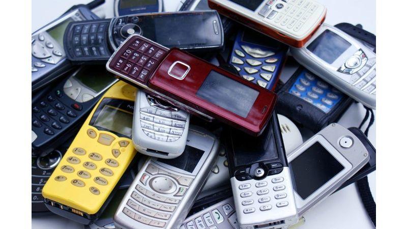 Collecte de téléphones usagés, organisée à La Tour du Pin