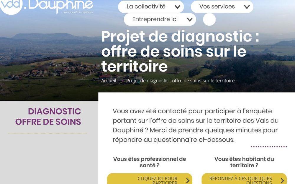 Questionnaire offre de soins pour les habitants des VDD