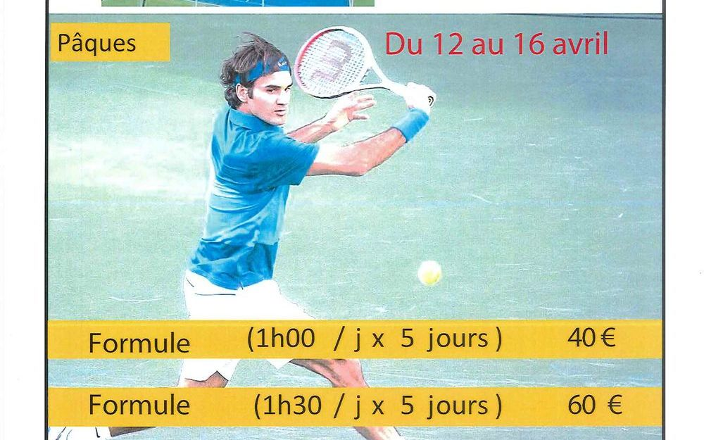 Stages de tennis Val-de-Virieu