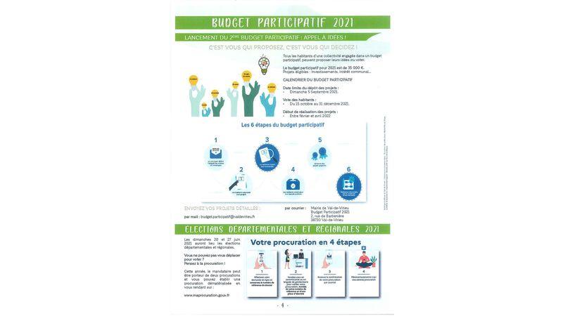 Budget participatif 2021 - Lancement du 2ème Budget Participatif : Appel à idées !