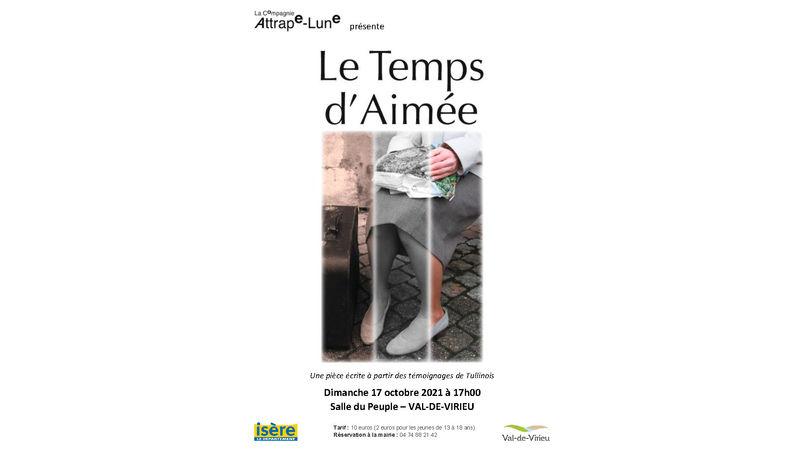 """Spectacle """"LE TEMPS D'AIMEE"""" de la Cie """"ATTRAPE-LUNE"""""""