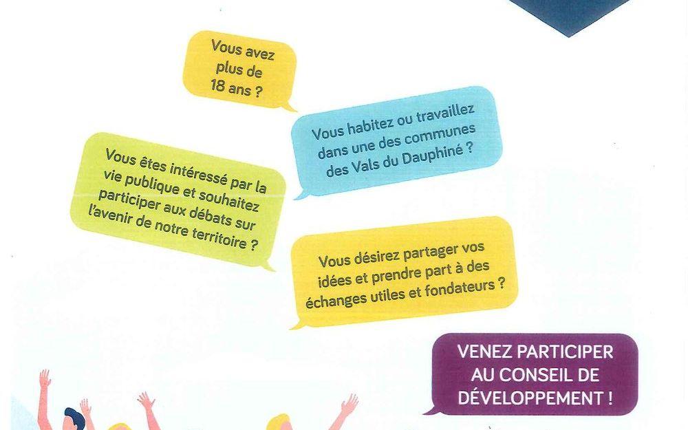 Conseil de développement des Vals du Dauphiné