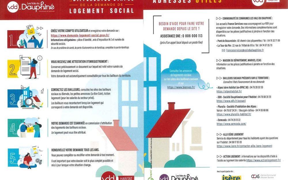 Les différentes étapes de la demande de logement social