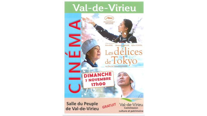Ciné Val-de-Virieu : LES DELICES DE TOKYO