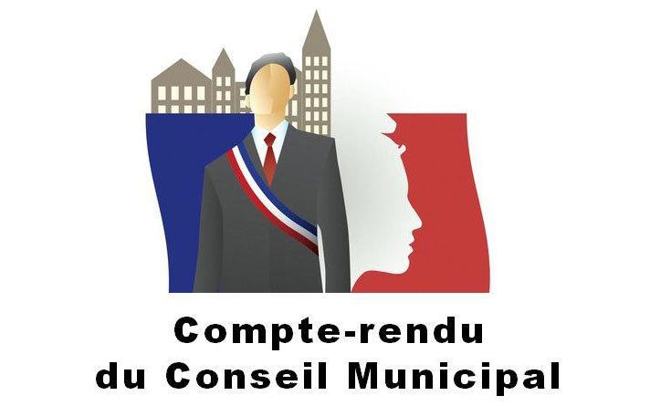 Conseil municipal du 8 avril 2019